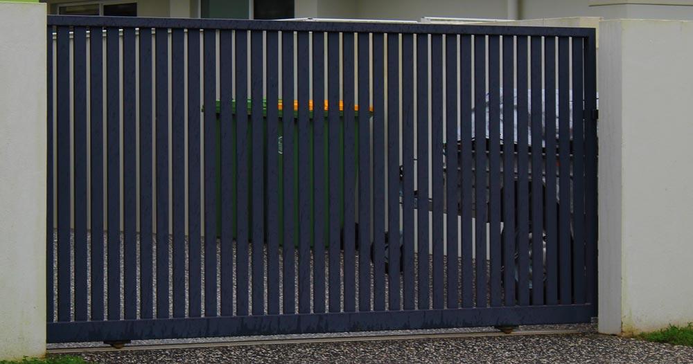 Driveway gates brisbane logan ipswich custom auto