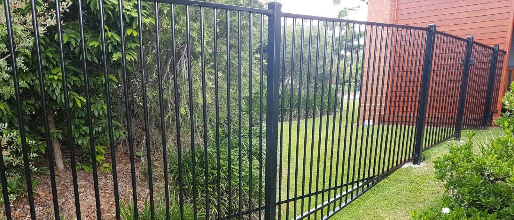 Garden Fence Panels with Raked Bottom section