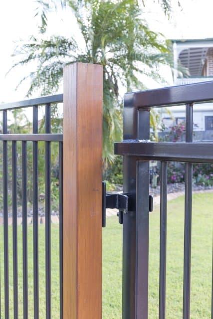 Beautiful Iron Bark Hardwood posts dressed