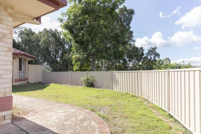 Colorbond fencing trimline