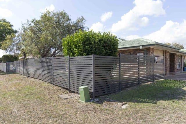 Slat Fencing Woodland Grey