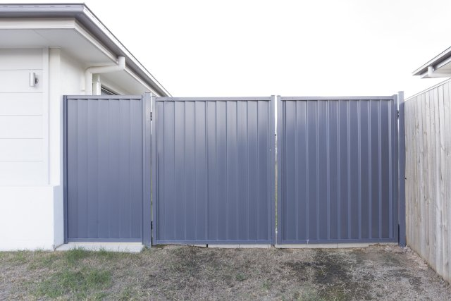 Colorbond gates and panel